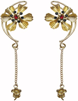 Sankisho Metal, Glass Cuff Earring