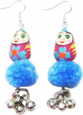 Juhi Malhotra Cool Dolls Wood Drop Earring
