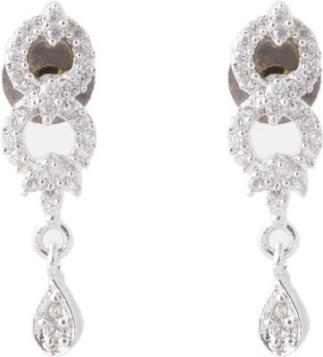 Aaina Home Decor Fashion Tops Cubic Zirconia Copper Drop Earring