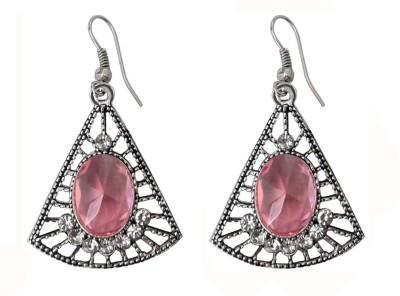Shreya Collection Spring Sparkle German Silver Dangle Earring