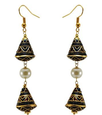 TwishQ Handmade Brass Dangle Earring