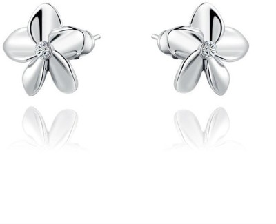 Amour Trendy Crystal Alloy Stud Earring