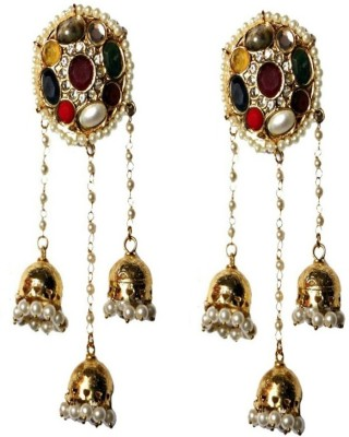 LE Truly Indian Alloy Jhumki Earring