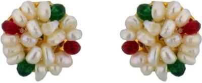 JPearls Healing Pearl Alloy Stud Earring