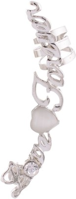 FashionFundamentals Love Forever Alloy Cuff Earring