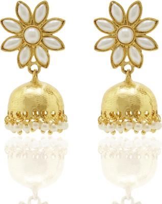 Ishaani Love Forever Alloy Jhumki Earring