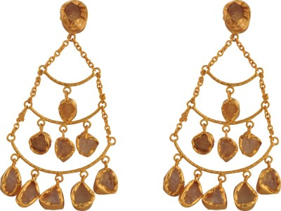 Ltd Edition LTD BR-GP13 Brass Drop Earring