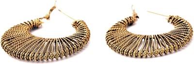 Fashionera brown Metal Plug Earring