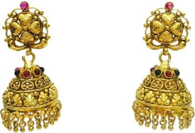 Mata Payals Sparkle Copper, Alloy Jhumki Earring
