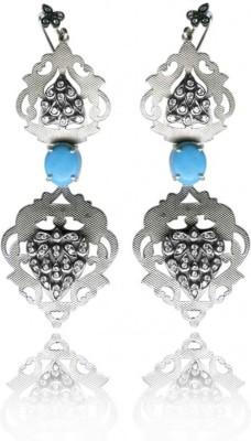 Treta Sterling Silver Drop Earring