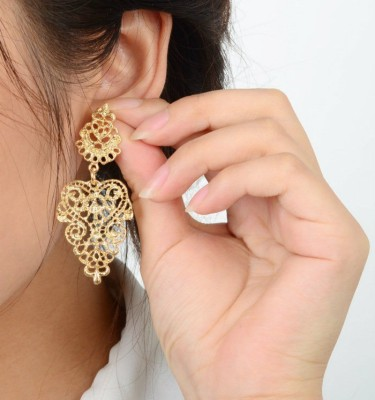Brandmeup Bhohemia Alloy Jhumki Earring, Drop Earring, Dangle Earring