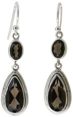 Aabhushan Aabhushajewels Quartz Sterling Silver Dangle Earring