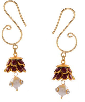 The Ageless Jewels Agee001 Brass Jhumki Earring