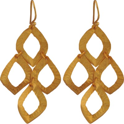Ltd Edition LTD BR-GP6 Brass Dangle Earring