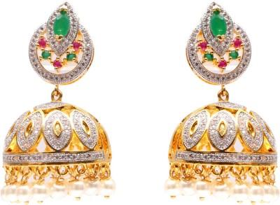 Mata Payals Antic Jewel Alloy Jhumki Earring