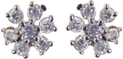 Rays SES232 Cubic Zirconia Copper Stud Earring
