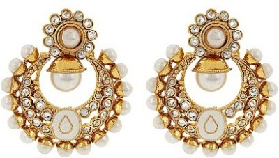 Jwells & More Ethnic Appeal Alloy Chandbali Earring
