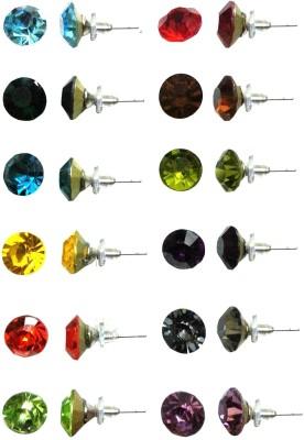 FashionFundamentals Crystal Stud Earring