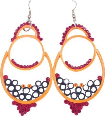 Kalarasika Designer Paper Chandbali Earring
