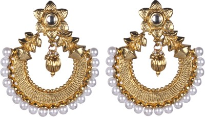 Tatva R1906 Alloy Chandbali Earring