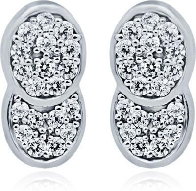 Navvya Sterling Silver Stud Earring