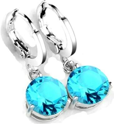 University Trendz Univ _E068 Crystal Alloy Clip-on Earring