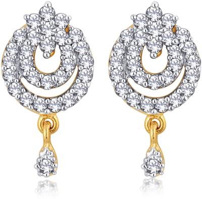 Alamod ALER 5020 Cubic Zirconia Brass Drop Earring
