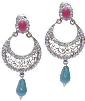 Buy Clues RCJ3047 Crystal Brass Drop Earring