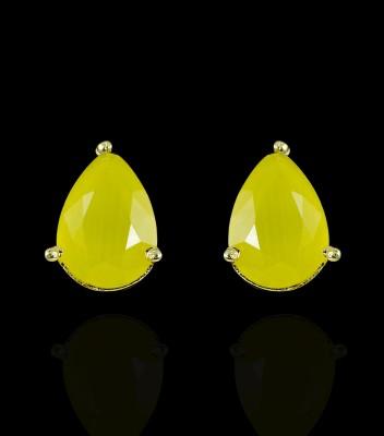 Zaveri Pearls fashion-forward Zinc Stud Earring