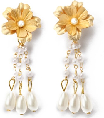 Aarya 24kt Silicone Dangle Earring
