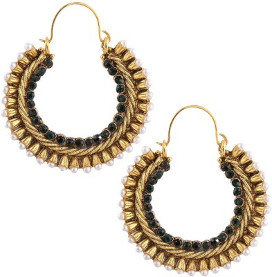 Gold & More Hammered Gold Bali-1 Copper Hoop Earring
