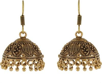 Numaish Jumki Pearl Alloy Jhumki Earring