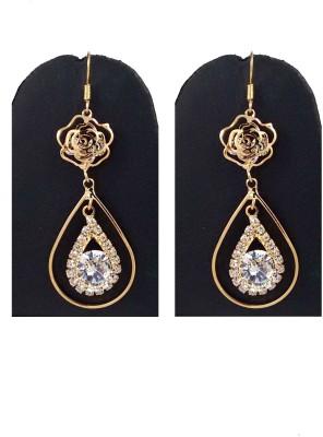 Hotpiper Royal Diamond, Crystal Alloy Dangle Earring