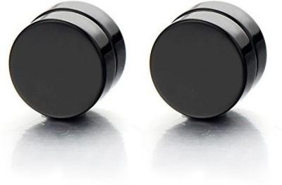 Spangel Fashion 1Pair Barbel Punk Steel Magnetic Earring