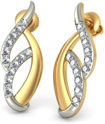 Joyra Eyecatching Swarovski Zirconia Sterling Silver Drop Earring
