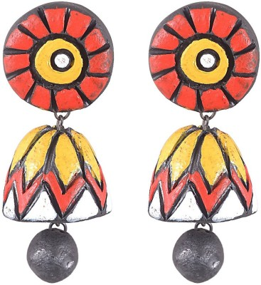 I Made It Jewellery Terracotta Drop Earring