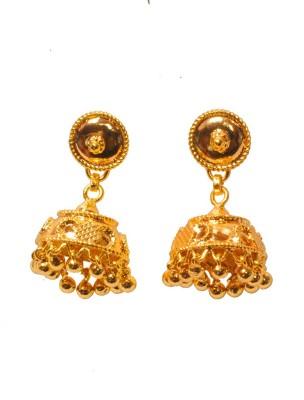 PFJ PFJ3041-EARRING Brass, Copper Jhumki Earring