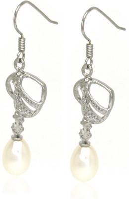 OnlinePearlShop Pearl Alloy Dangle Earring
