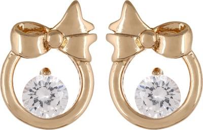 Fayon Bow Shape Alloy Stud Earring