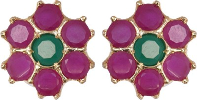 Janki Jewellers New Collection Cubic Zirconia Alloy Stud Earring
