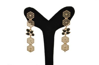 Arohi Jewells & Gems AJG9 Copper Earring Set