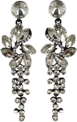 000 Fashions Sterling silver Crystal Alloy Alloy Drop Earring