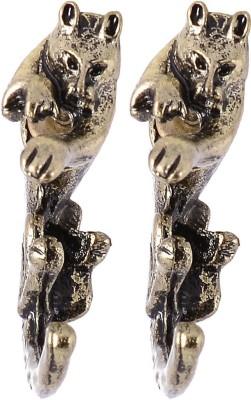 Fashnopolism My Leopard Cat Metal Drop Earring