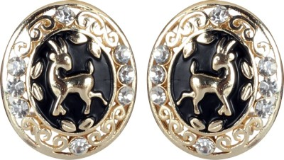 Jaipur Couture Chick Style Metal Stud Earring