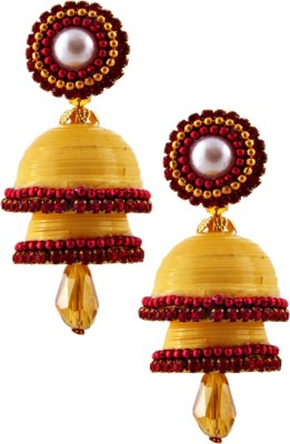 Halowishes EAR161 Paper Jhumki Earring