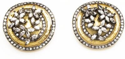 Joyas Designer Brass Stud Earring