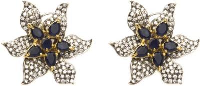 Joyas Traditional Brass Stud Earring