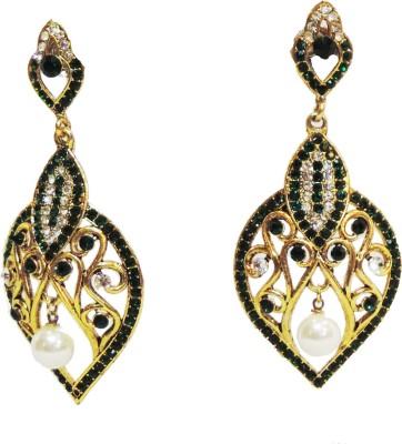 Traditsiya Designer Intricate Alloy Chandelier Earring