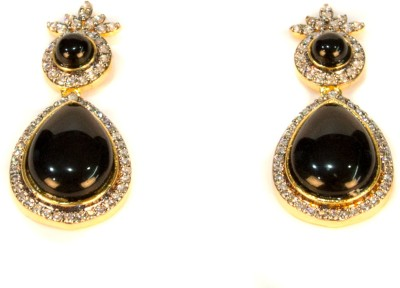 Amarsons Pearls Victorian Hanging Alloy Drop Earring