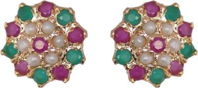 Janki Jewellers Beautiful Cubic Zirconia Alloy Stud Earring